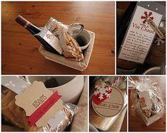 Cadeau gourmand vin chaud