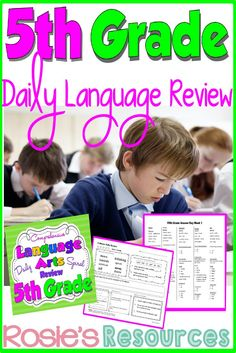 Comprehensive, spiral review. Use for review, direct instruction, or homework Also available for 3rd and 4th grades.
