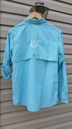 Pin by rainman 95de on rain bonnet headscarf and for Embroidered columbia fishing shirts