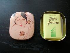 VINTAGE HENO DE PRAVIA SOAP TIN BOX GAL PERFUMERY SPAIN. 6 euros. fer_uy@yahoo.com