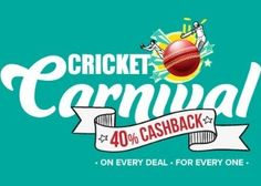 Little App Extra 40% Cashback Offer : Little App Cricket Carnival Sale Offer