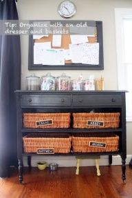 Entry Way? Organize school papers? Idea for wall magazine racks repurposed as vegetable or fruit holders.