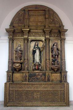 Santa Joana Princesa – Retábulo e Imagem-Real Associação da Beira Litoral: VISITA GUIADA À SANTA JOANA PRINCESA NO MUSEU DE AVEIRO