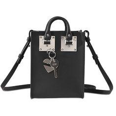 SOPHIE HULME Nano Albion. #sophiehulme #bags #shoulder bags #leather #