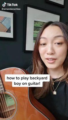 Guitar Chords And Lyrics, Guitar Chords Beginner, Easy Guitar Songs, Guitar Chords For Songs, Piano Songs, Music Guitar, Piano Music, Guitar Lessons, Playing Guitar