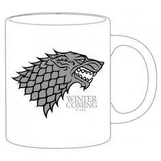Game of Thrones Mug Stark white