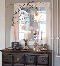 sch ne weihnachtsdeko advent zeit der vorfreude weihnachts special wei e k che pinterest. Black Bedroom Furniture Sets. Home Design Ideas