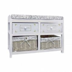Modern Storage Bench Organizer Furniture Shoes Rack Wooden Drawers White Baskets for sale online