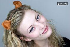 Accessoires - ⚓ *Fox* - Fuchs Tierohren mit Haarreif ⚓ - ein Designerstück von soulita bei DaWanda