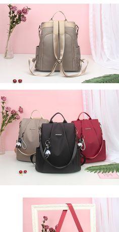 5720aa7b1491 Оксфордская сумка через плечо женская 2019 г., новая корейская версия  противоугонной сумки tide, дикий холст, дорожная сумка, женский рюкзак -  tmall.com ...