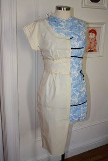 Gertie's New Blog for Better Sewing: Draping a Dress, Part Two: Getting Drapey with It