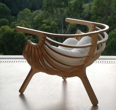 Shell Chair (in exposed plywood) by Marco Sousa Santos