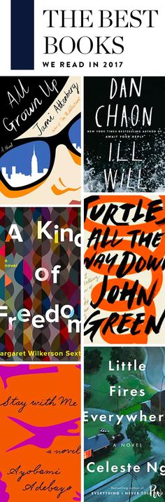 The Best Books We Read in 2017. #bestbooks #booklist #books