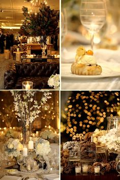 More winter wedding decor inspiration - love the cookie bar! #sundayriver #happyplace
