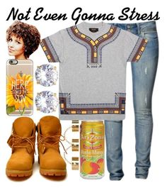 """Stress--"" by be-you-tiful-flower ❤ liked on Polyvore featuring Timberland, 10.Deep, ASOS, Casetify, MANGO, women's clothing, women, female, woman and misses"