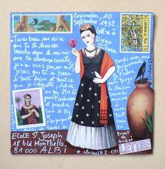 Art Postal (une idée à creuser, ça!)  - <3 Frieda
