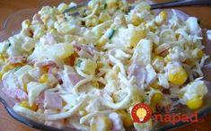 Fantastický vrstvený šalát z ktorého zaručene nepriberiete: Najlepšia náhrada za ťažké zemiakové šaláty! Pasta Salad, Potato Salad, Mozzarella, Healthy Recipes, Healthy Food, Food And Drink, Potatoes, Snacks, Meals
