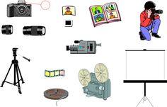 Photography - English Vocabulary - IWB activity.