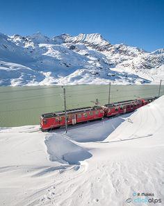 Photo ?Bernina Express UNESCO Train? by Roberto Sysa Moiola (@roberto moiola) #500px.