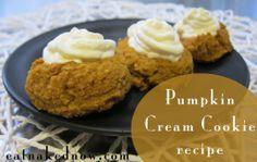 pumpkin cream cookie recipe #grain-free #gluten-free #GAPS