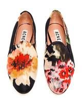 ACNE | Noa Floral Printed Dress Slippers | Browns fashion & designer clothes & clothing