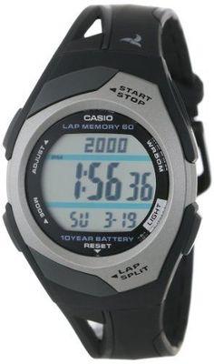 Casio STR300C-1V Sports Watch  Black