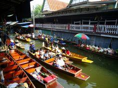 How to get on budget to DamnoenSaduak floating market