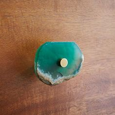 Agate Knob - Green #westelm Love this store - shame it doesn't ship to UK