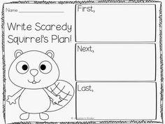 Scaredy Squirrel Unit FREEBIE! - Kreative in Life
