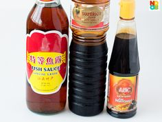 Sauces for Char Kway Teow