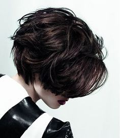 Charming and Lovely Messy Bob Cut