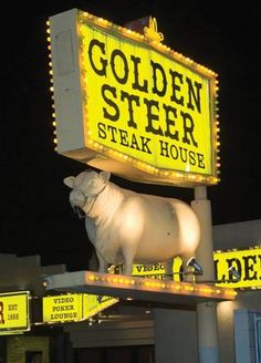 May 26, 2011:  Best classic restaurant in Las Vegas:  The Golden Steer maintains its hipster cool more than five decades after opening. Definitely get the tableside Caesar, a martini and some red meat. While the steaks aren't dry aged, you'll hardly notice while taking in the ambiance—besides, that's not how the Rat Pack did it back then. 308 W. Sahara Ave. Daily, 4:30 p.m.-11 p.m. 384-4470.
