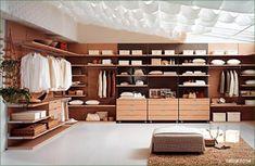 walk-in-wardrobe-closet-design-fegit, very clean and zen feel. Walk In Wardrobe Design, Open Wardrobe, Wardrobe Storage, Wardrobe Closet, Built In Wardrobe, Closet Space, Closet Clothing, Wardrobe Organisation, Clothing Storage