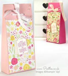 Pootles Stampin' Up! Independent Demonstrator - Tall All Abloom Box Plus Live Blooper Fix....