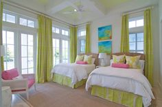 bright and cheery guest bedroom | Meredith McBrearty | Geoff Chick