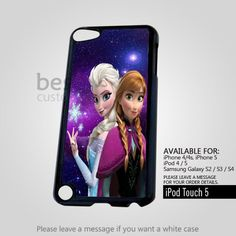 AJ 2948 Princess Anna and Elsa for ipod 5 Case | BestCover - Accessories on ArtFire