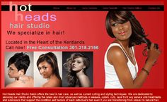 New website for a Beauty Salon in Gaithersburg, MD