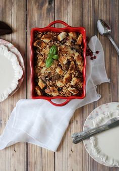 Farro, Mushroom and Sausage Stuffing - Perfect for #Thanksgiving!