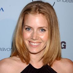 Amy Adams  at 28 and without her signature red hair.  I still love her.