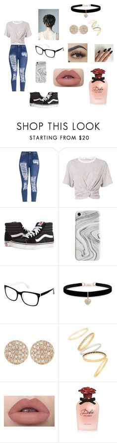 """Me, Myself, and I 😆"" by wolf-lover29 ❤ liked on Polyvore featuring T By Alexander Wang, Vans, Recover, Cynthia Rowley, Betsey Johnson, Dana Rebecca Designs, Madewell and Dolce&Gabbana"