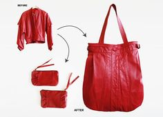 Remade USA makes recycled leather handbags from vintage jackets leather scrap. Our bags are made in the USA and we are zero waste. Leather Purses, Leather Handbags, Leather Bags, Leather Backpacks, Red Leather, Vintage Leather Jacket, Leather Jackets, Diy Bags Purses, Diy Handbag