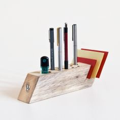 desk organizer handmade from salvaged wood by less more building an office desk