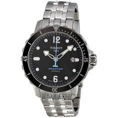 Tissot Seastar 1000 Black Dial Mens Watch T0664071105700