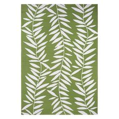 The Couristan Covington Bamboo Leaves Indoor/Outdoor Area Rug lends a fresh accent to your interior or exterior living space. This green area rug features. Indoor Outdoor Living, Indoor Outdoor Area Rugs, Outdoor Areas, White Area Rug, Beige Area Rugs, Blue Area, Outdoor Runner Rug, Bamboo Leaves, Round Rugs