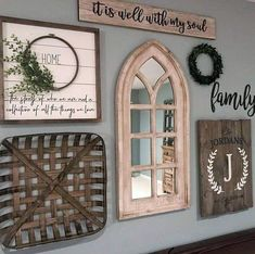 50 best dining room wall decor ideas 2019 (modern & contemporary pictures) 37 ~ Design And Decoration Dining Room Wall Decor, Farmhouse Wall Decor, Rustic Decor, Country Decor, Farmhouse Signs, Rustic Farmhouse, Farmhouse Bench, Farmhouse Style Decorating, Farmhouse Ideas