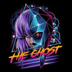 """Cyber Ghost"" Makoto Kusanagi #ghostintheshell #anime #vincenttrinidadart #VincentTrinidad #vp021 #tshirt #apparel #clothing #freelancer #art #illustration #artwork #dbh #popculture #teefury#teepublic #shirtpunch #redbubble #neatoshop #displate #threadless #qwertee #riptapparel #designbyhumans"