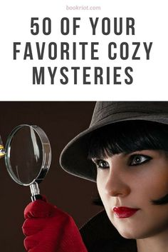 Curl up with these 50 reader-favorite cozy mysteries. I Love Books, Good Books, My Books, Books To Read, Teen Books, Book Club Books, Book Lists, Reading Lists, Cozy Mysteries