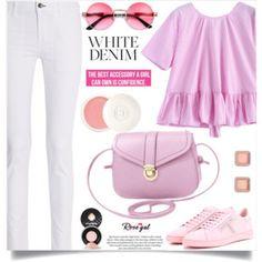 Bright White: Summer Denim