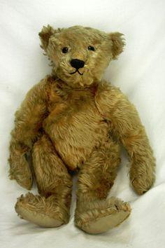 Antique Rare Early Steiff 20  Bear ca1905