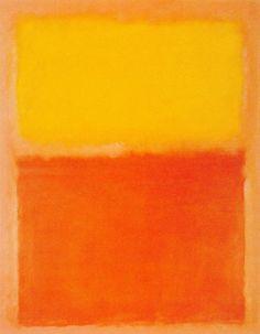 Марк Ротко. «Оранжевое, красное, жёлтое». 1956 год